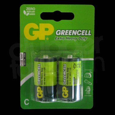 Batteries C (2 pack)
