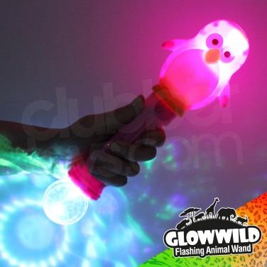 """Penguin Mega Light Up Animal Wand 11"""""""
