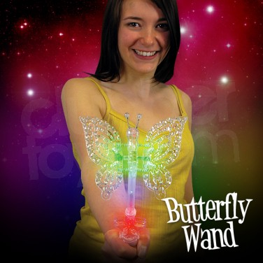 Flashing Butterfly Wand