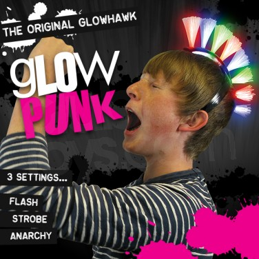 Glow Punk Hair