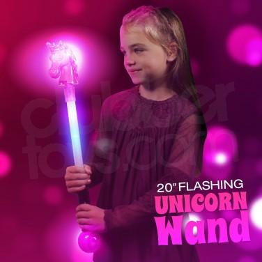 """20"""" Light Up Unicorn Wand"""