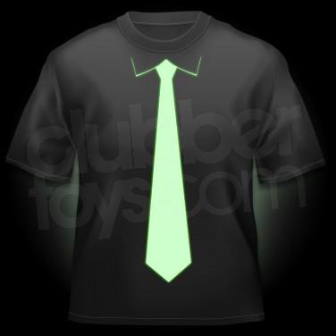Glow Tie T-shirt