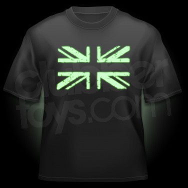 Glow T-Shirt Union Jack