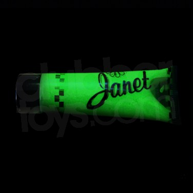 Janet Glow in the Dark Glitter Gel