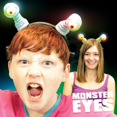 Flashing Monster Eyes