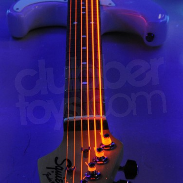 String Up Lights : UV Neon Electric Guitar Strings