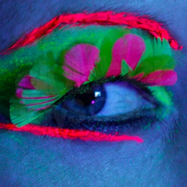 Neon Feather Eyelash
