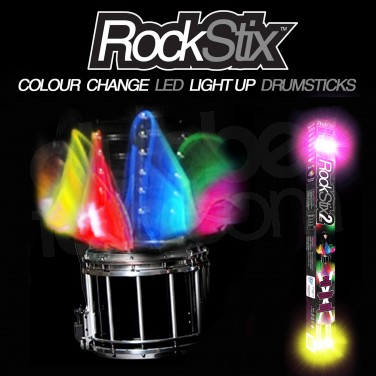 Rockstix Light Up Colour Changing Drumsticks