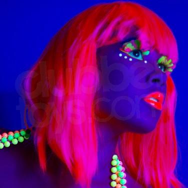 UV Neon Reactive Wigs