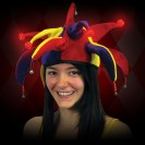 Light Up Jester Hat