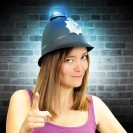 Flashing Police Helmet Wholesale