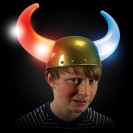 Flashing Viking Helmet