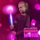 "20"" Flashing Unicorn Wand"