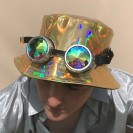 Gold Holographic Hat