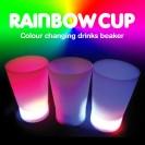 Flashing Rainbow Cups