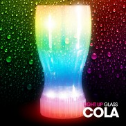 Flashing Cola Glass