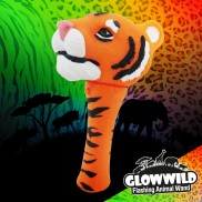 Tiger Mini Flashing Animal Wand 7""