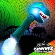 T-Rex Mega Flashing Animal Wand 11""