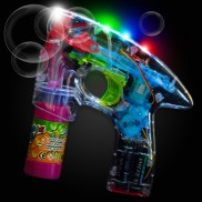 Flashing Party Bubble Gun
