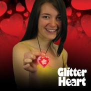 Flashing Glitter Heart