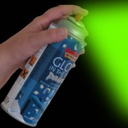 glow in the dark spray paint. Black Bedroom Furniture Sets. Home Design Ideas