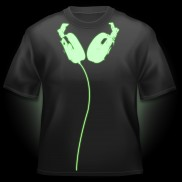 Glow T-Shirt Headphones