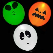 Illoom Light Up Halloween Balloons (5 Pack)