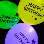 Illoom Balloons Happy Birthday (5 Pack)