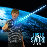 Blue Laser Sword with Ball