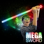 Light Up Flashing Mega Sword