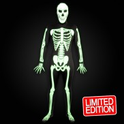 Skinz Glow Skeleton Body Suit