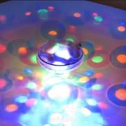 Under Water Light Show