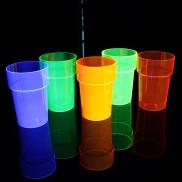 Uv Reactive Pint Glasses (6 Pack)