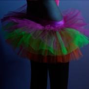 Uv Multicoloured Tutu